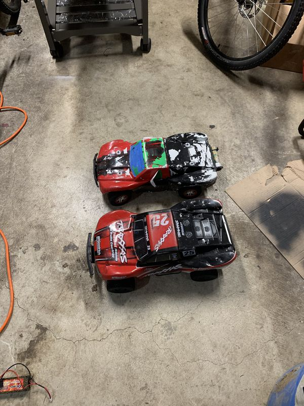 Two Traxxas Slash 4x4 RC Cars For Sale In Bothell, WA