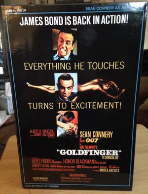 """Sideshow Collectible James Bond """"GOLDFINGER"""" Action Figure 12"""" MIB for Sale in Crofton, MD"""