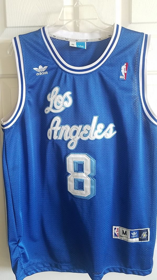 watch f216d 33eef Kobe retro Lakers jersey blue for Sale in Upland, CA - OfferUp