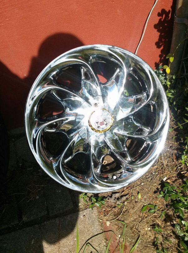 Set Of Chrome Vogue Stardust Wheels For Sale In Hyattsville