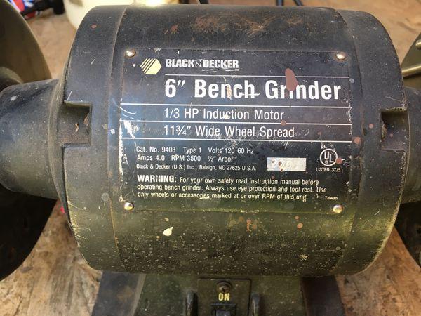 Cool Black Decker Bench Grinder For Sale In Murrieta Ca Offerup Machost Co Dining Chair Design Ideas Machostcouk