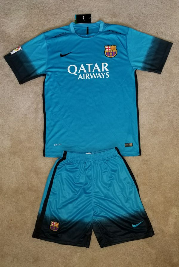 quality design e67cf 04df9 Barcelona third jersey 2016-17 with short on sales! for Sale in Charlotte,  NC - OfferUp