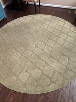 """8"""" Olive Green area rug for Sale in Boyds, MD"""