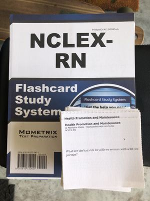 NCLEX flash cards for Sale in Tampa, FL
