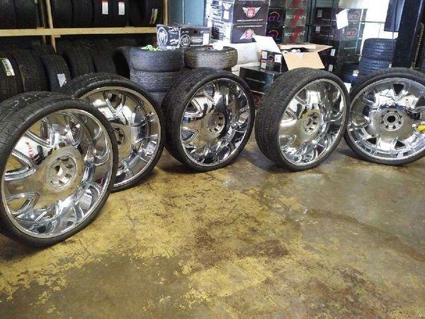5 Rims 30 Dub Bandito Rims For Sale In Atlanta Ga Offerup