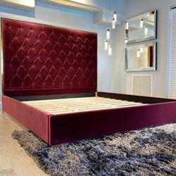 King Bed Frame \\ Financing Available  Thumbnail