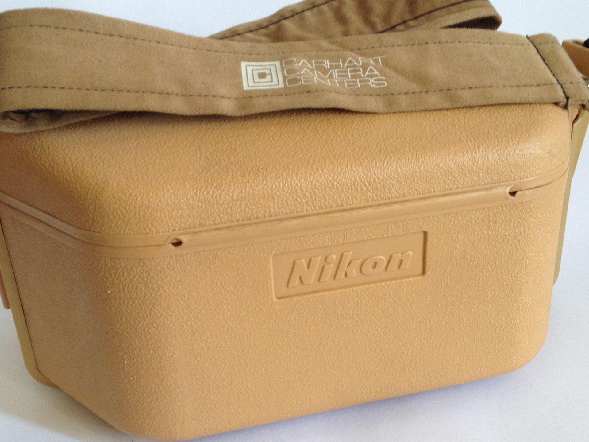Nikon Camera Case With Carhart Camera Strap Made Japan