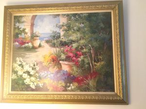 Garden painting for Sale in Boston, MA