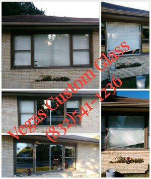 Shower door/windows/mirrors for Sale in Houston, TX