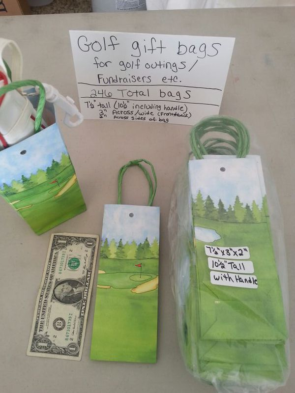 Small Golf Gift Bags For A Golf Outing Fundraiser Etc 246 Bags In Total Can Be Split Up For Sale In Sun City West AZ OfferUp