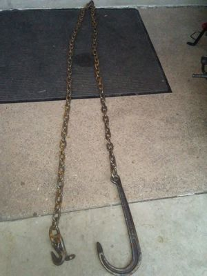 Tow hook and chain for Sale in St. Louis, MO