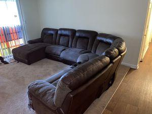Photo Ashley Furniture Sectional Set!!