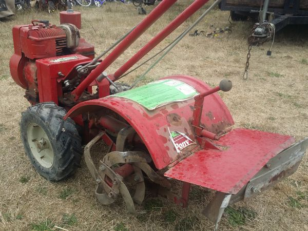 Troy-Bilt Pony 5hp Rototiller with Furrower/Hiller/Plow Attachment for Sale  in Salem, OR - OfferUp