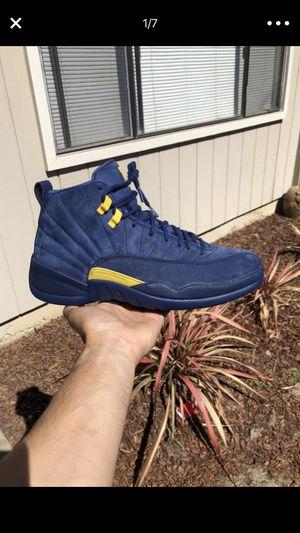 7687b4bcc84 Jordan 12 Michigan size 10.5 Brand New for Sale in Santa Clara