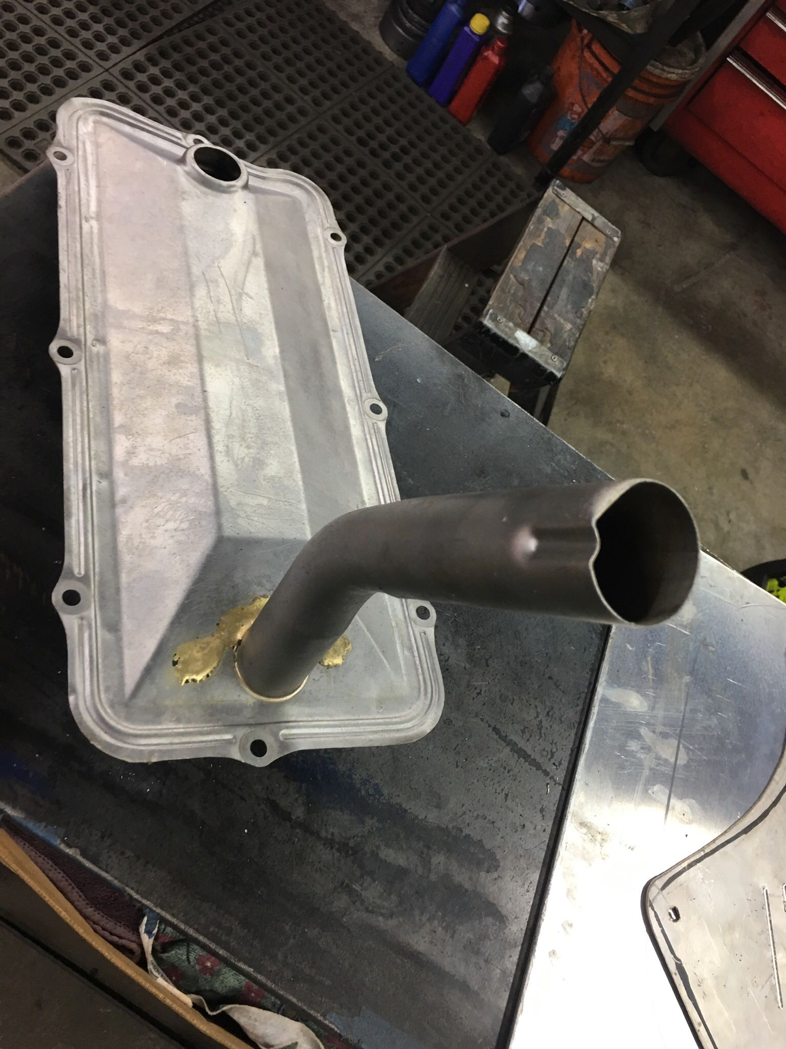 Hemi 392 Intake And Carb And Valley Pan