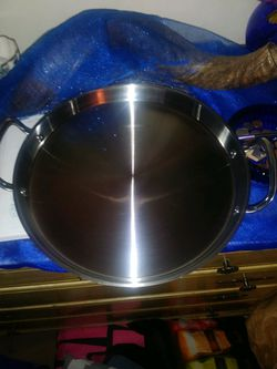 princess house stainless steel skillet Thumbnail