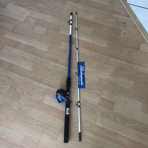 New Fishing pole rod and reel shakespeare tiger kit spinning for Sale in Los Angeles, CA
