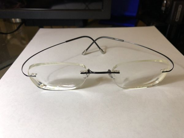 1b9a3366c6a Silhouette rimless eyeglasses + sunglass clip-on - TMA Must Collection -  any shape lens