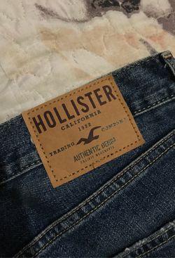 28x30 slim straight hollister pants new ! Thumbnail