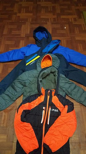 Coats for boys sizes are 10-12 and 7-8. $20 for each one for Sale in Alexandria, VA