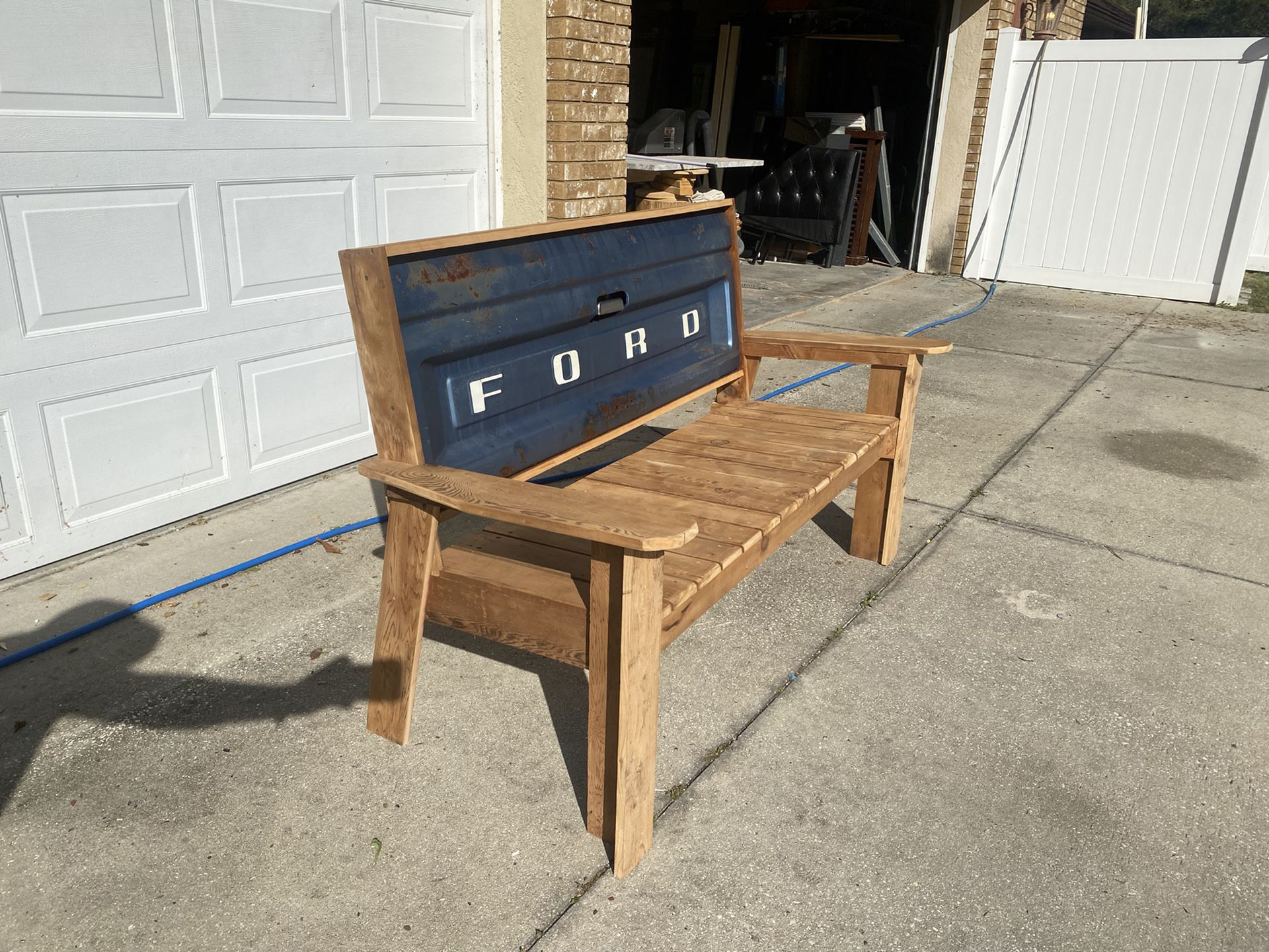 Father's Day Gift! - Ford Tailgate Bench