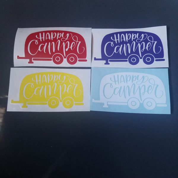 Happy Camper Vinyl Decal Sticker For Sale In Murfreesboro TN