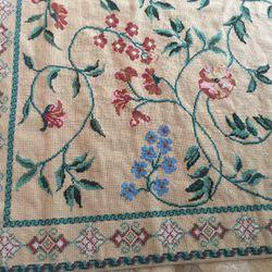 "Rug Vermilion Needle Point 8.5' X 9'  ""Persian Jade"" Thumbnail"