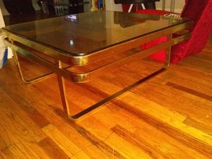 Living Room Glass Table Need Gone Asap for Sale in Detroit, MI