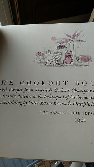 the cookout book 1961 for Sale in Appomattox, VA