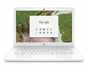 "HP - 14"" Chromebook - Intel Celeron - 4GB Memory - 32GB eMMC Flash Memory - HP Finish In Snow White for Sale in Perris, CA"