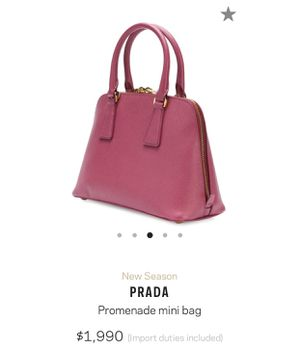 e4ce028abc60 New and Used Prada bag for Sale in Fife, WA - OfferUp