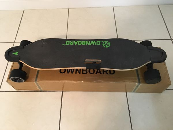 """Ownboard W1S (38"""") Electric Skateboard With Sanyo (Tesla) Battery for Sale  in Miami, FL - OfferUp"""