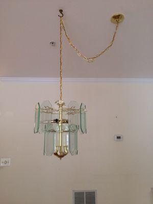 Glass Chandelier for Sale in Ashburn, VA