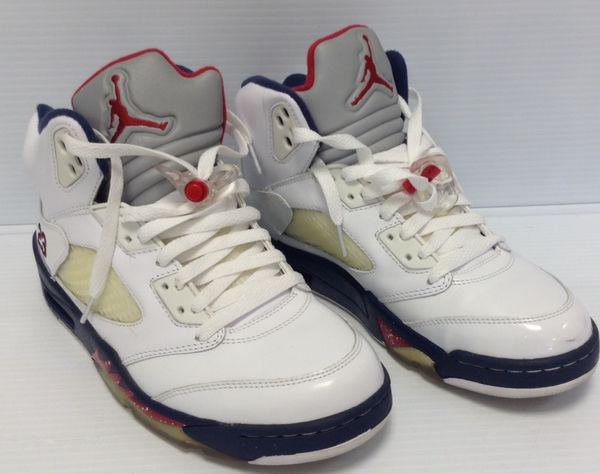 promo code ff959 b5825 NIKE AIR JORDAN 5 RETRO OLYMPIC INDEPENDENCE DAY SIZE 8. contact info  removed