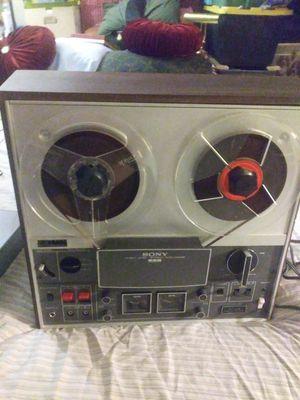 Vintage sony tc366 three head reel to reel tapedeck for Sale in Phoenix, AZ