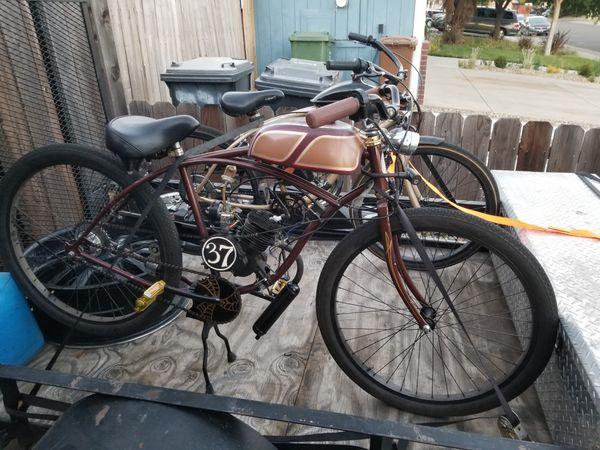 Motorized Bicycle Custom
