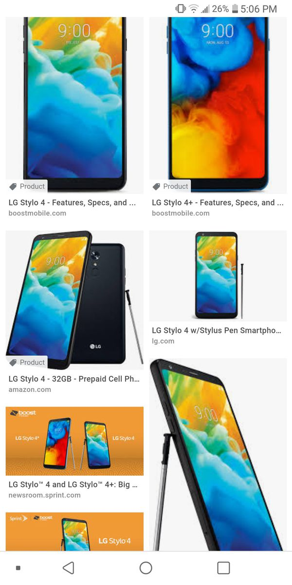 LG stylo 4 boost mobile for Sale in Indianapolis, IN - OfferUp