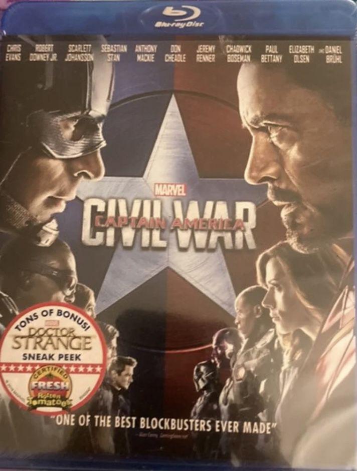 Marvel's Captain America: Civil War [Bl