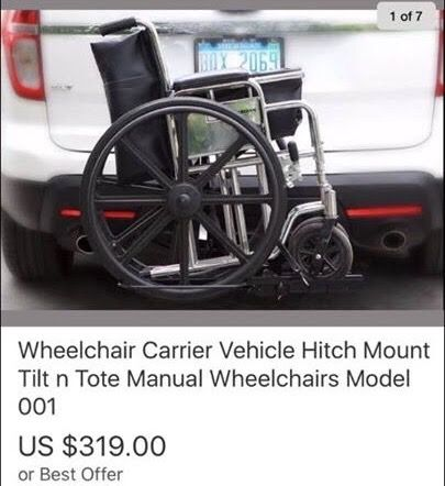 Wheelchair carrier hitch mount for Sale in Easley, SC - OfferUp
