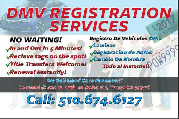 Dmv Tacoma Wa >> Dmv registration services for Sale in Hayward, CA - OfferUp