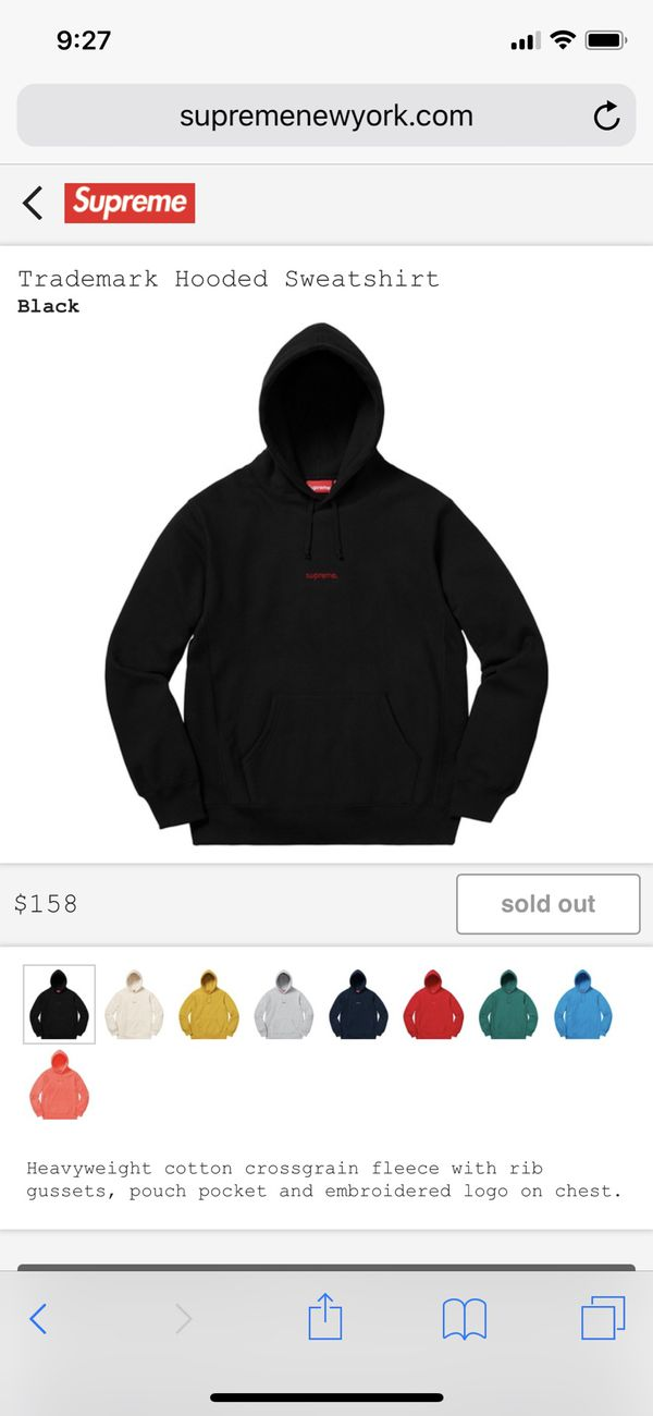 a97863ce Supreme Trademark Hoodie for Sale in Denver, CO - OfferUp