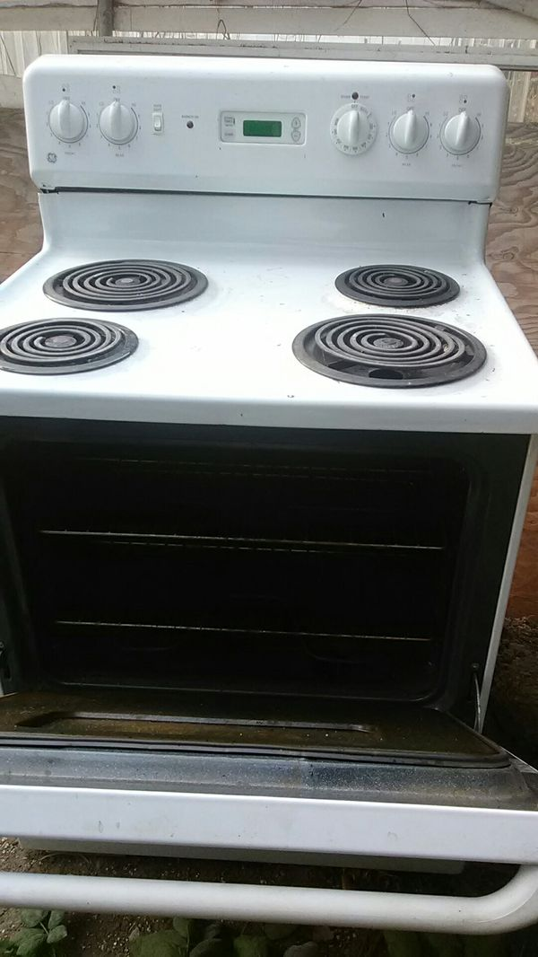 General Electric Stove Oven