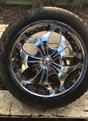 "20"" rims and tires for Sale in Lithia Springs, GA"