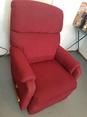 Reclainer red chair for Sale in Midlothian, VA