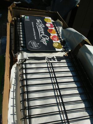 4 shelved wire display racking foldable free standing for Sale in Salt Lake City, UT