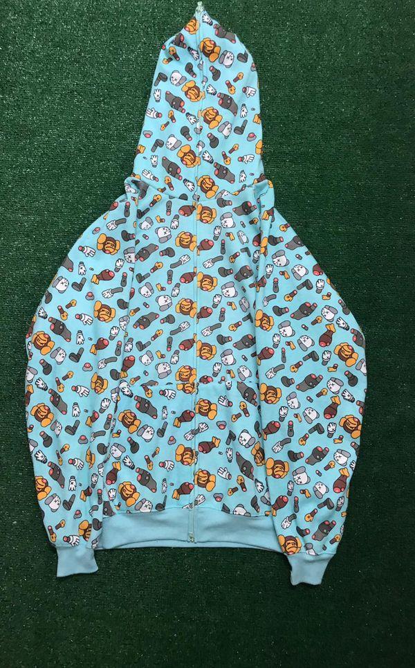Bape X Kaws >> Bape X Kaws Hoodie For Sale In Hialeah Fl Offerup
