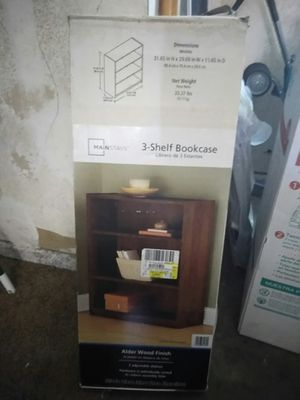 Bookshelves still in box for Sale in Lancaster, CA
