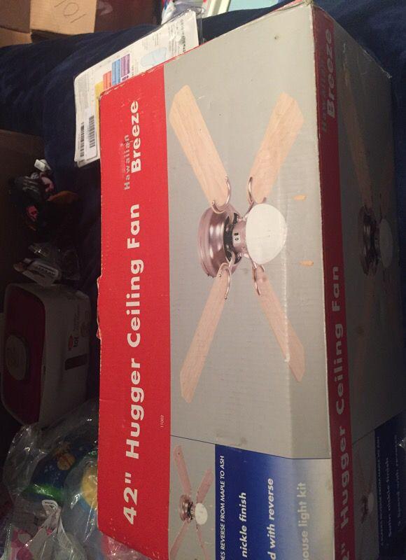 Hawaiian Breeze 42 Inch Hugger Ceiling Fan For In Denver Co Offerup