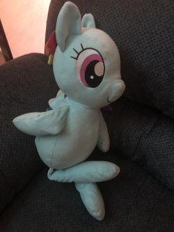 My little pony rainbow plush toy Thumbnail