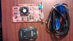 Kvm and graphic card for Sale in Cleveland, OH
